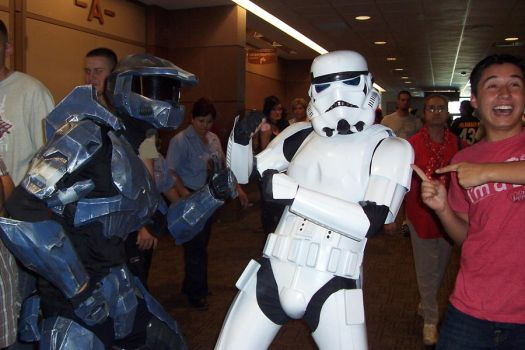 Master Chief VS StormTrooper by R1chard69