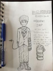 BNHA: The IMP (fan hero) by TheSapLord