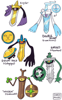 Crossbred Aegislash Variations by Karin-Sawada