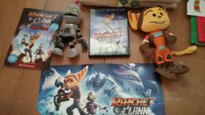 my ratchet and clank sutff by lombaxgril700
