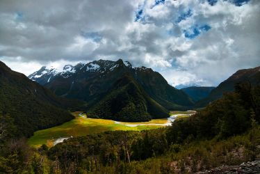 Routeburn Flats by mark-flammable