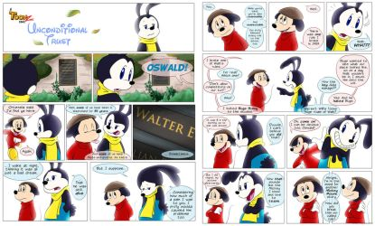 ToonZ - Unconditional Trust - Pages 1 and 2 by KicsterAsh