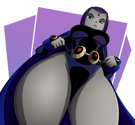Raven's Thickness by RealRavenRavenRaven
