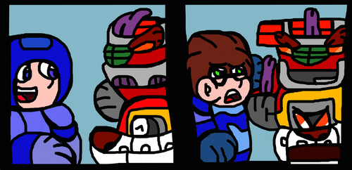 Borthma's Friendship And Hunt For Both Megaman by Gr8Finity