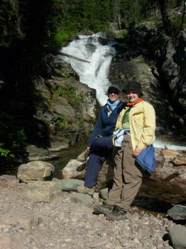 Mom and Me at Twin Falls by Aredith