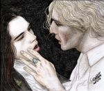 Louis and Lestat (Interview with the Vampire) by Darkshadow81