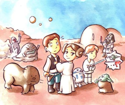 Star Wars by Gigei
