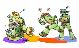 Turtle Brothers by athena-i