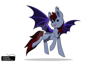 Hestern the Batpony by Husky-Whisky