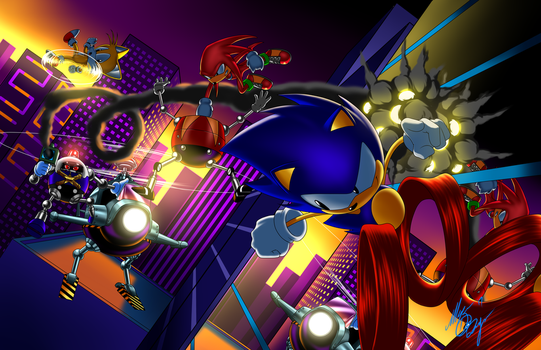 Sonic Mania by Digi-Ink-by-Marquis