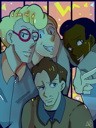 Ghostbusters! by Delicake