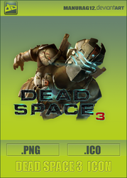 Dead Space 3 Icon by Anurag by manurag12