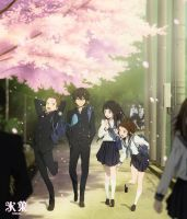 [Anime Wallpaper] Hyouka by Michze90s