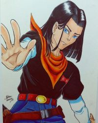 Android 17 by matthyko