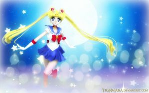 Sailor Moon (Wallpaper 04) by TRXNALARA