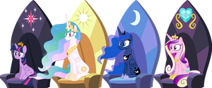 The Four Princesses by Jeatz-Axl
