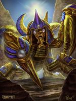 Khepri Gold Card by PTimm