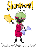 Zim Supports ShamWow by JailbotNinetales