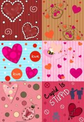 Valentine Pattern Set by kvaughnp3