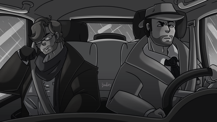 Detectives At Work by Zodin00t