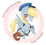 Derpy Valentine - You're My favorite Muffin by Ne-chi