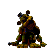 Golden freddy full body (thank you image) by JoltGametravel