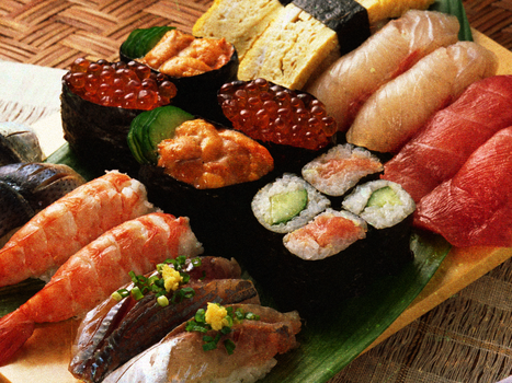 Delicious looking Sushi by addicted-to-fashion