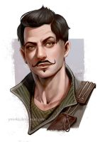Dorian portrait by ynorka