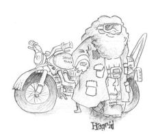 Hagrid Sirius's Motorcycle by MakingPicsSlowly