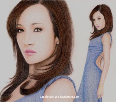 Maggie Q by Loreleydatura