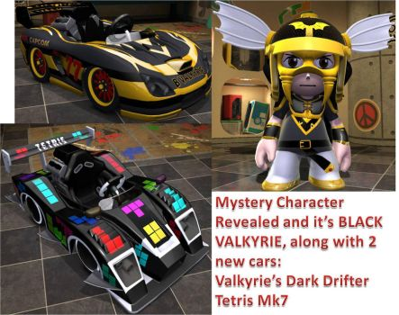 Modnation Mystery Character revealed and more! by PacGuy765