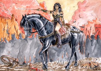 Xena The Warrior Princess by emalterre