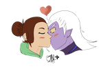 Gift: A kiss from his dreams. by Cherry-the-ninja