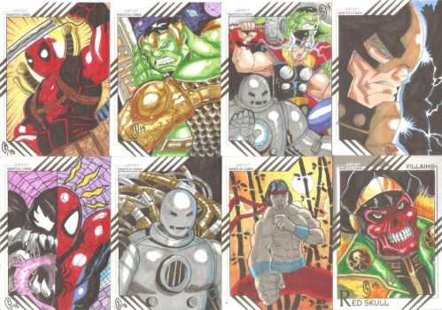 Cards Marvel Fleer Retro 08 by The-Satsui
