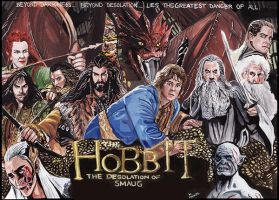 The Hobbit - The desolation of Smaug by mrinal-rai