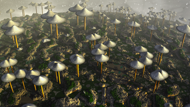 UFO Fungi by banner4
