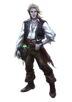 Guybrush Threepwood by Mar11co
