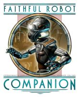 Faithful Robot Companion by BWS