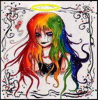 AT: Colorful Angel by PhantomSilence44
