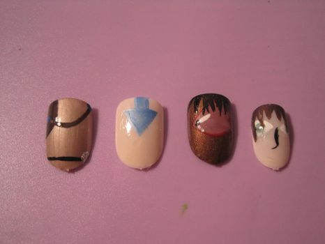 A:TLA Nails by hatterlet