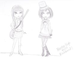 Moster High Meets Rockband by Northstar2790