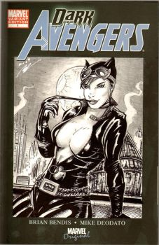 Dark Avengers: A Cat's Meow by i3i11theWi11