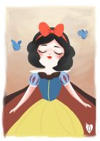 Snow White by BunnyQueenT