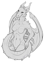 Dragoness [c] by sphynxpunk
