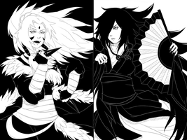 Eternal Strife: Senju and Uchiha by FireEagleSpirit
