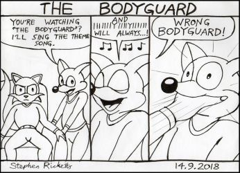37 The Bodyguard by Megamink1997