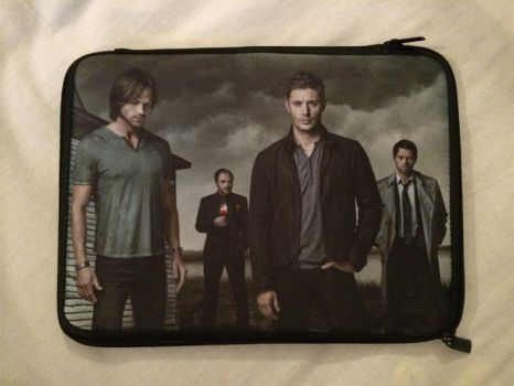 Supernatural :: Netbook Sleeve by MooneyeKitsune