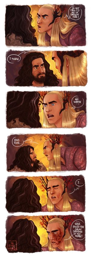 LOTR - dragon's fire by the-evil-legacy