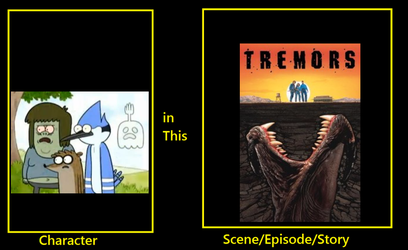 Regular show in Tremors by TheCartoonWizard
