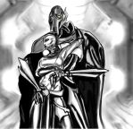 Grievous and Ventress by dead01